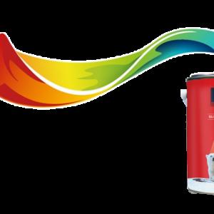 giá thùng sơn tường