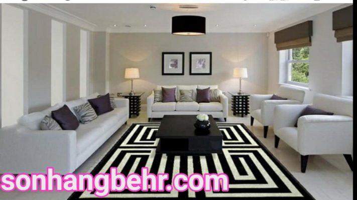 màu sơn phòng khách nhà ống